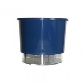 Vaso Autoirrigável Médio - Azul Escuro N03 Raiz