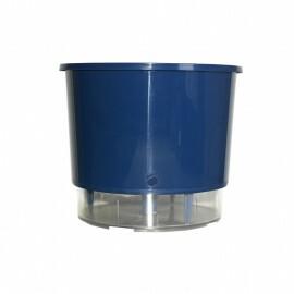 Vaso Autoirrigável Médio - Azul Escuro (T314)