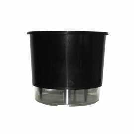 Vaso Autoirrigável Médio - Preto (T308)