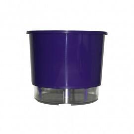 Vaso Autoirrigável Médio T3 RAIZ - Roxo