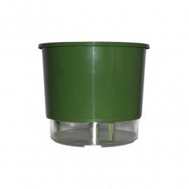 Vaso Autoirrigável Médio T3 RAIZ - Verde