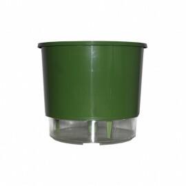 Vaso Autoirrigável Pequeno - Verde (T206)