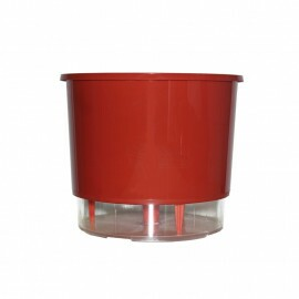 Vaso Autoirrigável Pequeno - Vermelho (T210)