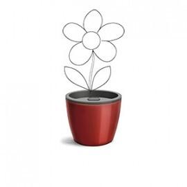 Vaso Autoirrigável 12,5x15,4 - Elegance N03 - Cor Vinho