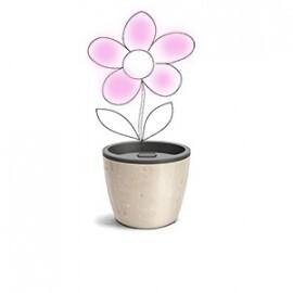 Vaso Autoirrigável Elegance N03 - 12,5x15,4 - Cor Travertino