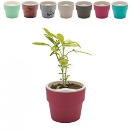 Vaso Autoirrigável Médio - Linha Plantar - 12,7x14,7 cm - 1,5 Litros