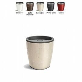 Vaso Autoirrigável Elegance N03,5 - 15,9 alt x 15,4 diâm - 1,6 Litros