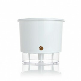 Vaso Autoirrigável WISHES T3 Médio - Cor Branca