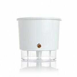 Vaso Autoirrigável Médio - Branco N03