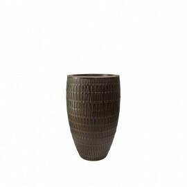 Vaso Bambu Oval N45 - 45x26,9 - 22 L - Cor Carvalho