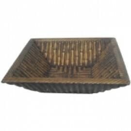Vaso Bambú P Tabaco - L1078