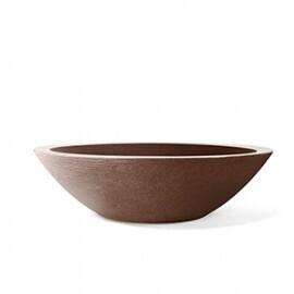 Vaso Concha Grafiato N18 - 18x62 cm - 20 L - Cor Ferrugem
