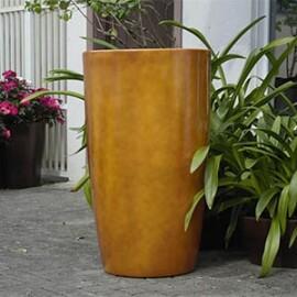 Vaso Fibra de Vidro - Cônico 53 - 90 alt x 53 diâm - Diversas Cores - Rotogarden