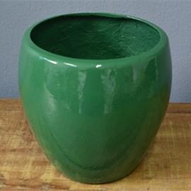 Vaso Fibra de Vidro - Toscano P - 30 alt x 28 diâm - Diversas Cores - Rotogarden
