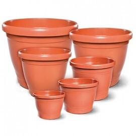 Vaso Primavera - Plástico Redondo - Diversos Tamanhos