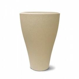 Vaso Ming Cônico N67 - 67x45 cm - 55 L - Cor Areia