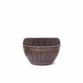 Vaso de Parede Tina N32 - 22x32 cm - 5 L - Carvalho