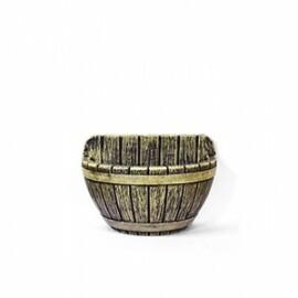 Vaso de Parede Tina N32 - 22x32 cm - 5 L - Cor Envelhecido