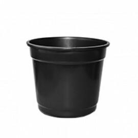 Vaso Plástico N06 - 12 Litros - Cor Preta