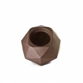 Vaso Quartzo N16 - 16x23 cm - 4,75L - Cor Ferrugem