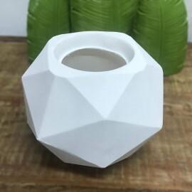 Vaso Quartzo N16 - 16x23 cm - 4,75L - Cor Branco
