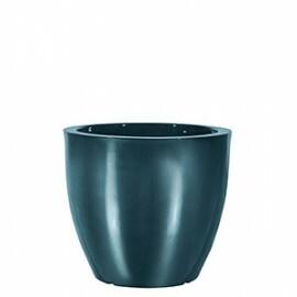 Vaso Redondo Baixo - 39 alt x 43,5 diâm - PPA20 - Pintura em Alto Brilho - Diversas Cores - Rotogarden
