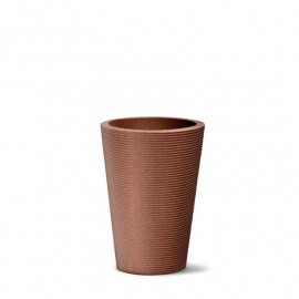 Vaso Riscatto Cônico N55 - 55x39,5cm - 44 Litros - Cor Ferrugem