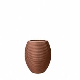 Vaso Riscatto Oval N38 - 38x22,5cm - 19 Litros - Cor Ferrugem
