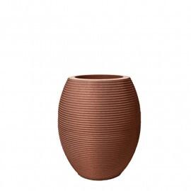 Vaso Riscatto Oval N52 - 52x30,5cm - 50 Litros - Cor Ferrugem