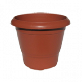 Vaso Terracota - Nº 1 - Alt 17,5 - Cor Cerâmica