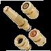 Conjunto para Mangueira 4 peças Em Bronze - DY-8025C - Trapp