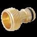 """Adaptador Macho  ¾"""" em Bronze - DY-8018C - Trapp"""