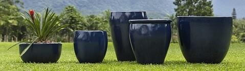 Vasos Fibra de Vidro Azul