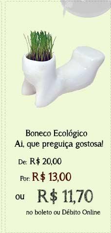 Boneco Ecológico