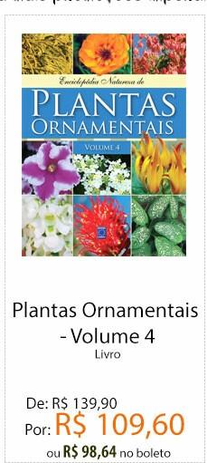 Livro Plantas ornamentais