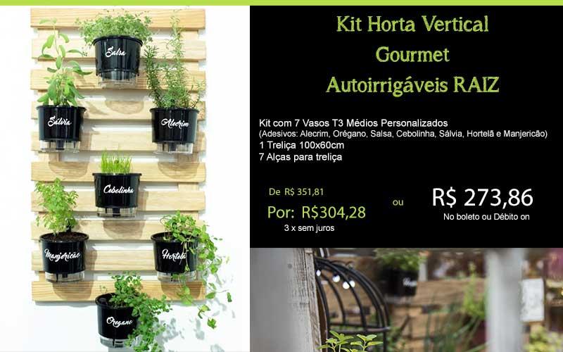 Kit Horta Gourmet